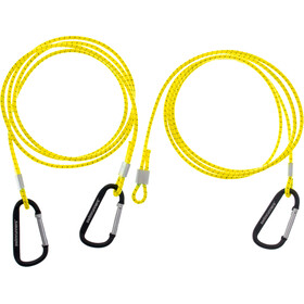 Swimrunners Hook-Cord Ceinture de traction 3m, neon yellow